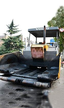 沥青混凝土摊铺机
